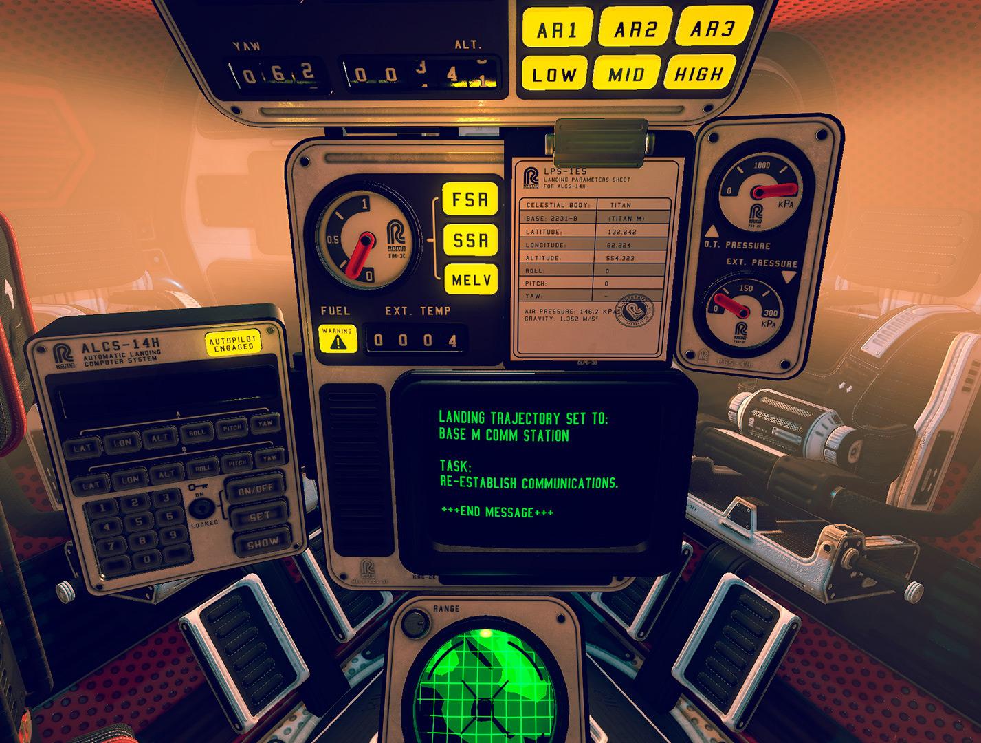 """Aus der einsamen Kapsel in die verlassene Raumstation: """"P.O.L.L.E.N"""" überlasst den Spieler weitgehend sich selbst. / Quelle: Mindfield Games Ltd."""
