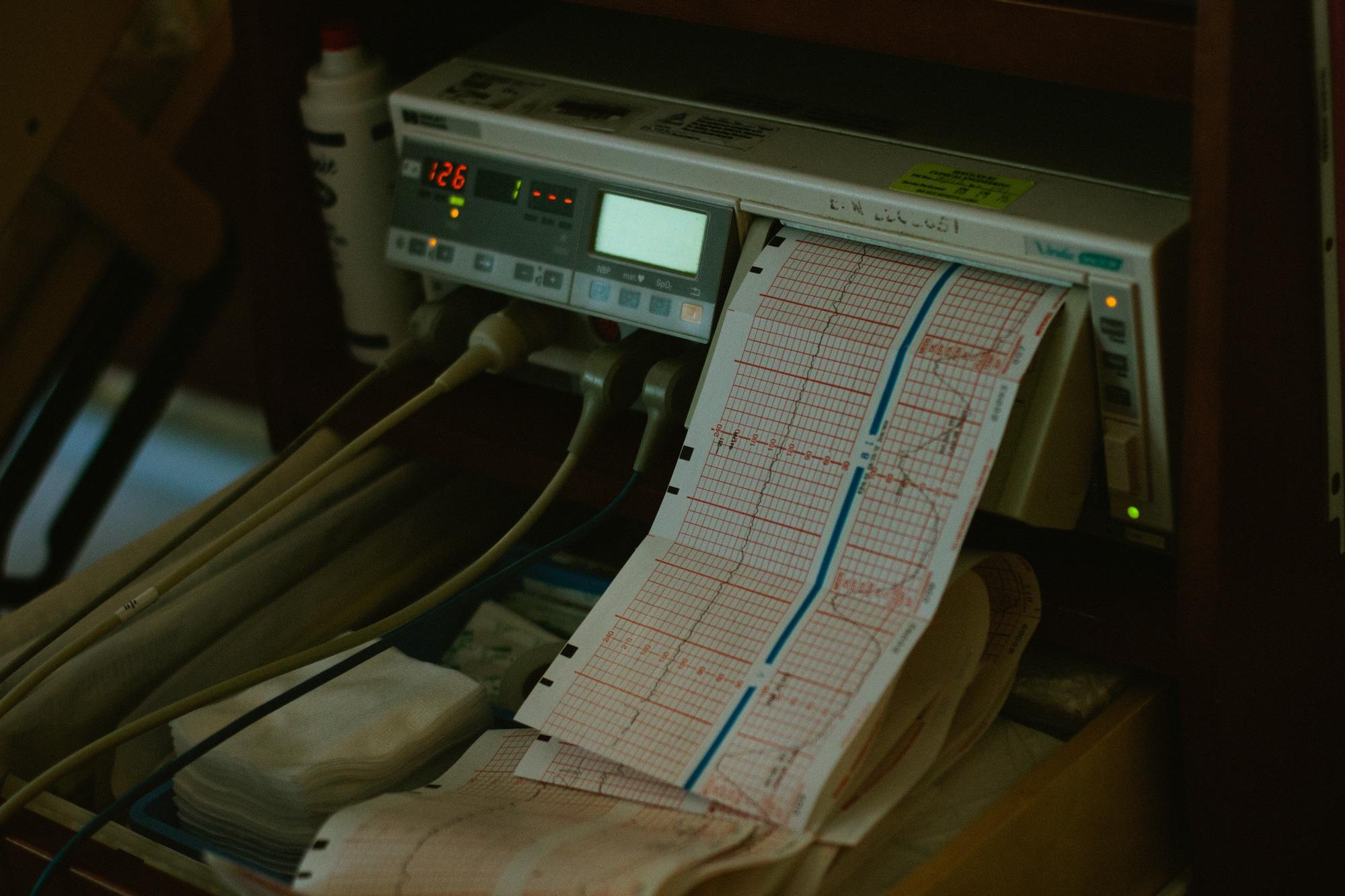 Gerät in einem Krankenhaus