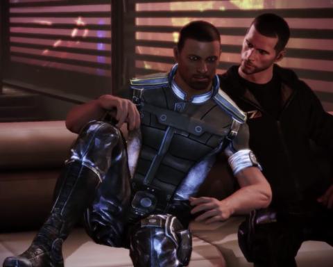 """Die """"Mass Effect""""-Reihe ist eine der wenigen Videospielserien, in der Spieler ihre sexuelle Orientierung frei wählen können. / Quelle: Mass Effect 3/Electronic Arts"""
