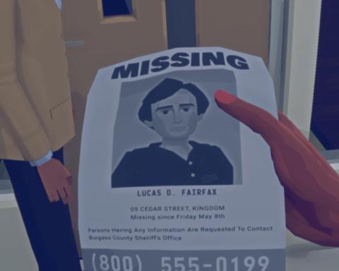 Die Suche nach dem verschwundenen Lucas scheint hoffnungslos. / Quelle: 505 Games